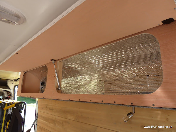 ProMaster Conversion Upper Cabinets