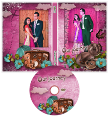 our wedding journey DVD cover