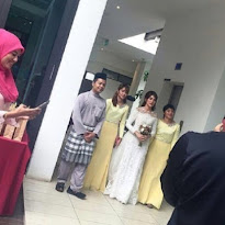 Pertunangan Amyra Rosli dengan Amar
