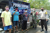 Lawan Covid, Polsek Subang Belusukan Sosialisasikan PPKM Berskala Mikro Kepada Warga Subang