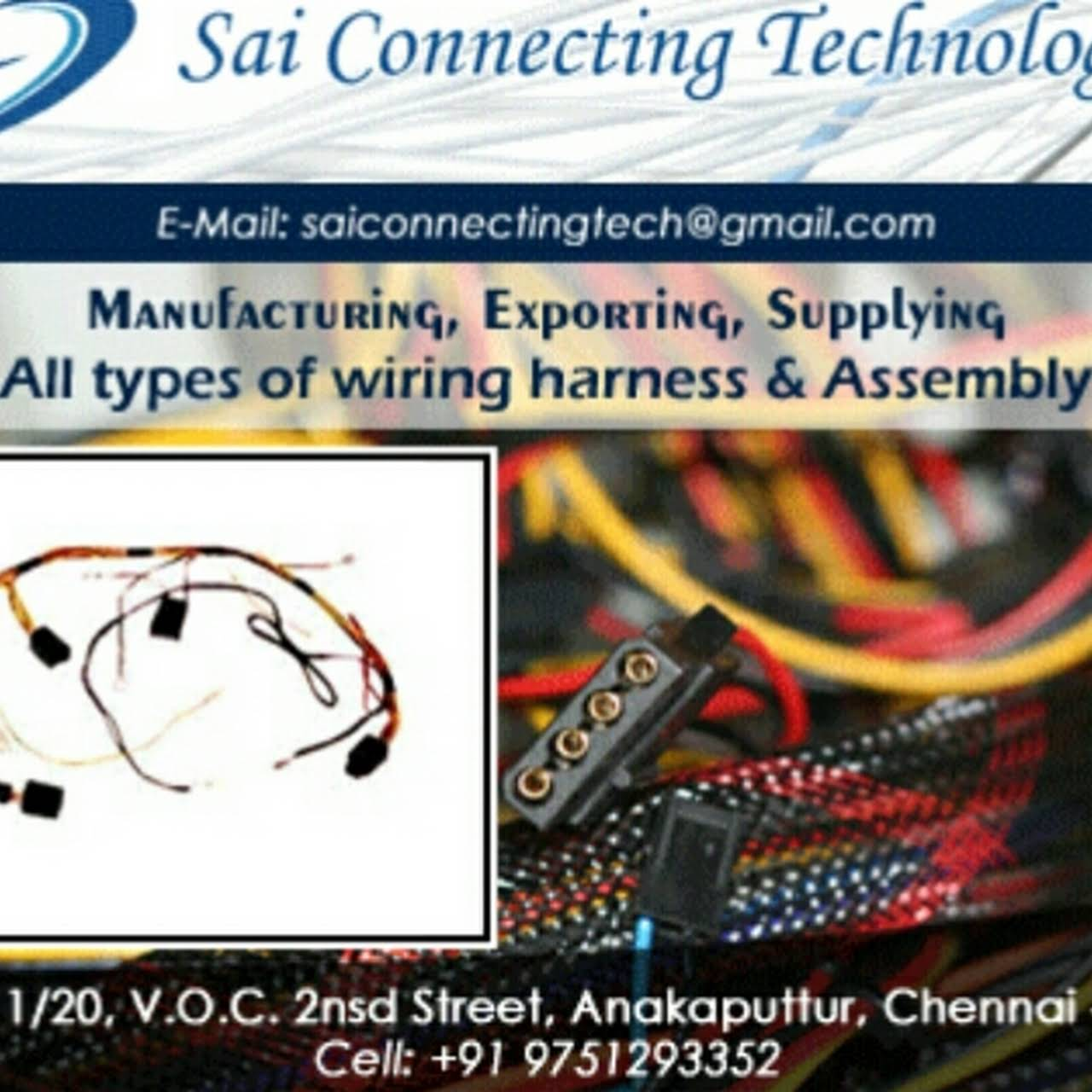 Wiring Harness Manufacturers In Chennai Custom Diagram Company Sai Connecting Technologies Cable Manufacturer Rh Saiconnectingtechnologies Business Site 1970 Chevelle