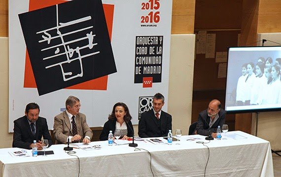 La Orquesta y Coro de la Comunidad de Madrid (Orcam) presenta su temporada 2015/16
