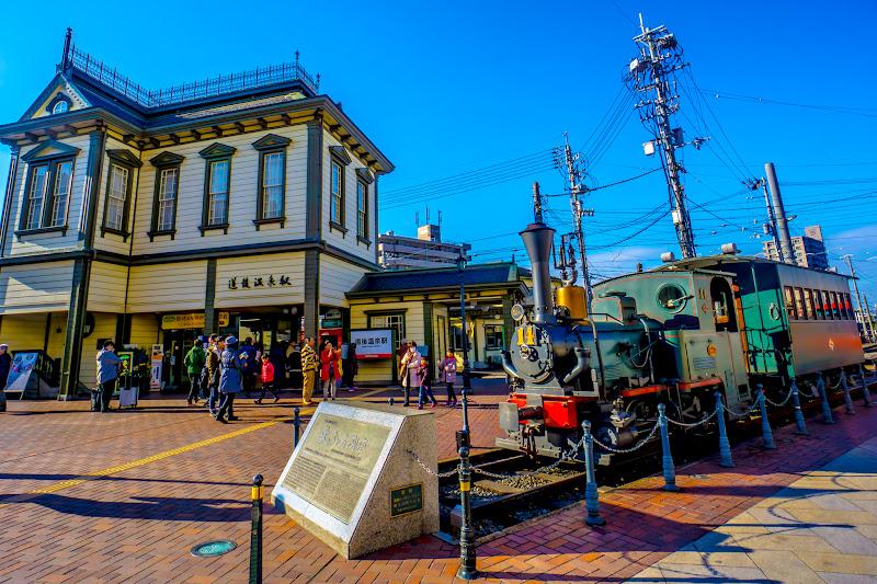 道後温泉駅 坊っちゃん列車1