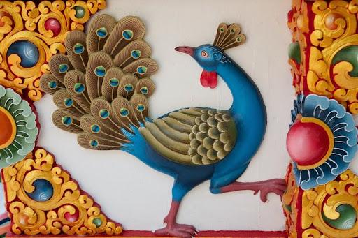 Beautiful painting work was done by Jampal Jhaula Lama