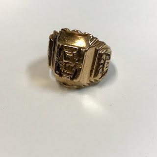 18K Gold Inca Ring