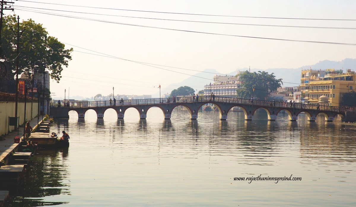 Reach Swaroop Sagar Bridge
