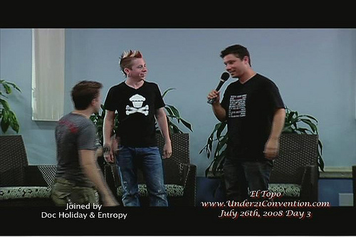 Doc Holiday Entropy And El Todo Pua, Beachmuscles