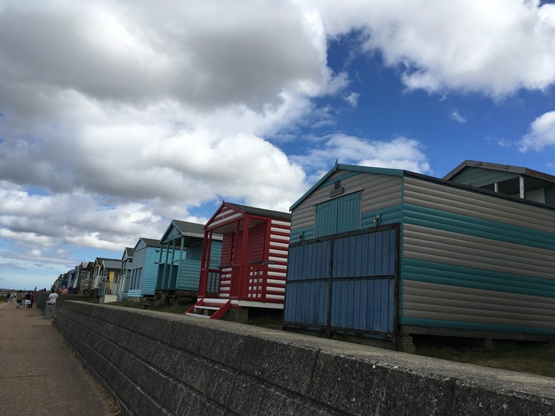 Beach Huts on Tankerton Slopes