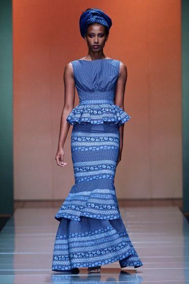 Trendy African Print Dresses 2016