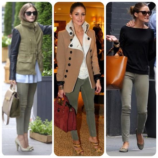 Olivia Palermo Style Fall Fashion Tips Olive Pants