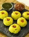 Konkani Style Undi (Oondi) Seasoned Rice Dumplings