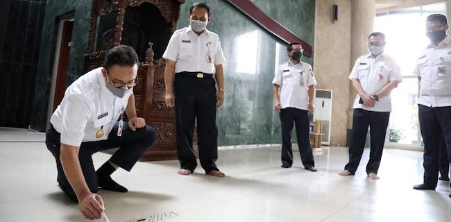 Masjid Di Jakarta Boleh Kembali Gelar Shalat Jumat, Ini Pesan Gubernur Anies