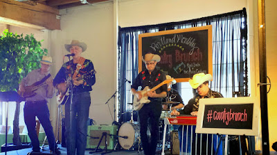 Portland Monthly Country Brunch 2015, Hank Sinatra and the Atomic Cowboys