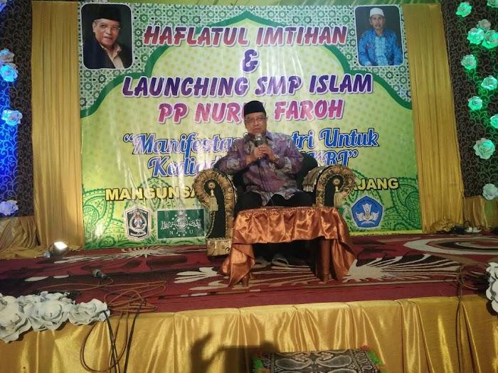 Ketum PBNU: Peran Pesantren NU Membangun Peradaban Islam Indonesia Harus Terus Berlangsung