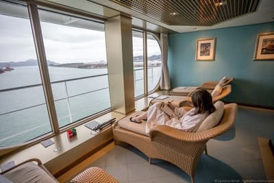 Onboard Holland America MS Amsterdam