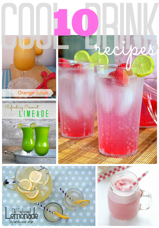 10 Cool Drink Recipes #gingersnapcrafts #linkparty #features_thumb[1]