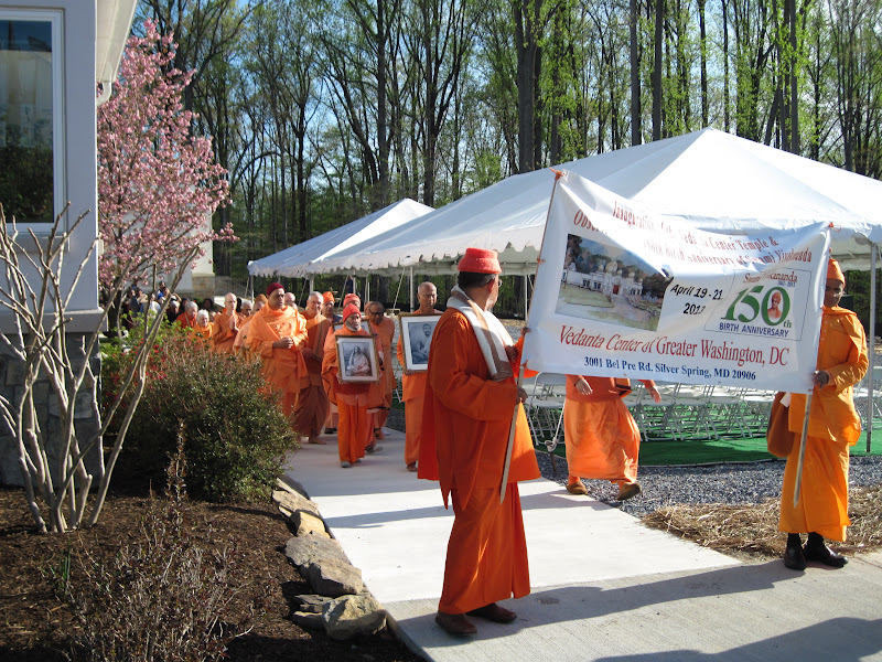 Day 2 Procession in the Vedanta Campus
