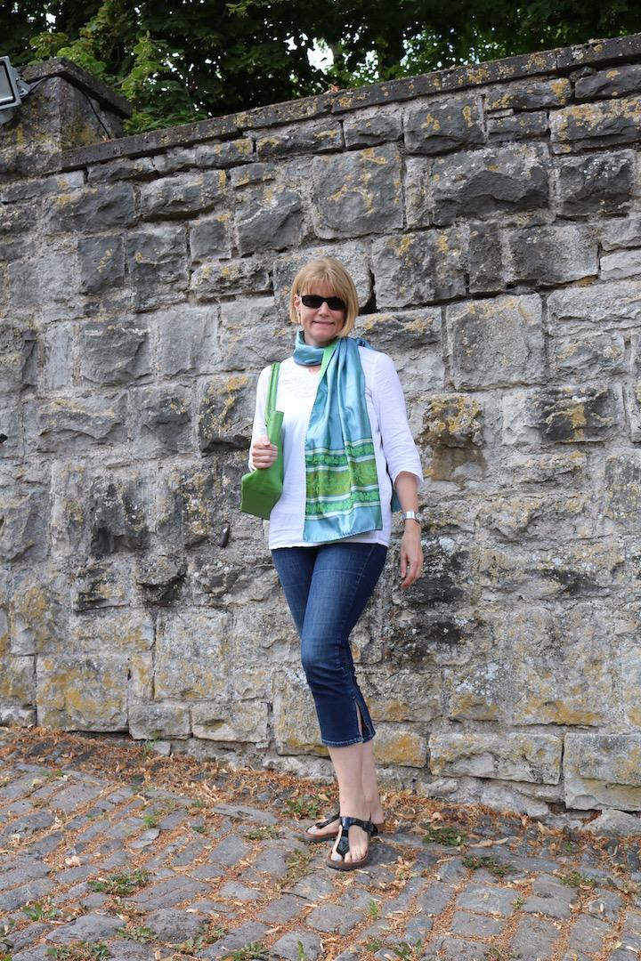 GreenTurquoiseScarf 3