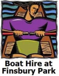 Boat Hire at Finsbury Park