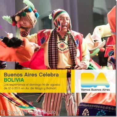 Buenos aires celebra bolivia 2016 gratis horario for Espectaculos argentina 2016