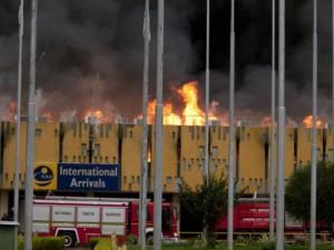 Kenya Airport Fire Destroys International Terminal
