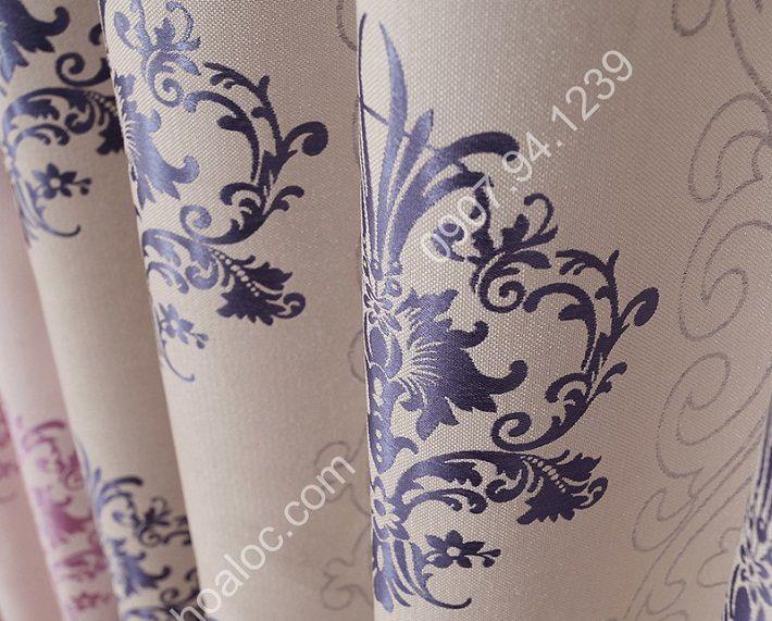 Rèm cửa đẹp tại hà nội hoa vector châu âu 10