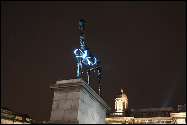 The Gift Horse ont he Fourth Plinth