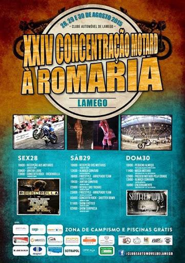 Fotos - XXIV Concentração Motard à Romaria – Lamego – 2015