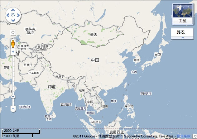 Maps in (and of) China: Baidu, Bing, and Google - Isidor\'s Fugue