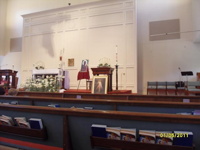 5.01. 2011 Dzień Beatyfikacji Jana Pawła II w Watykanie. Niedziela Miłosierdzia Bożego. - SDC12552.JPG