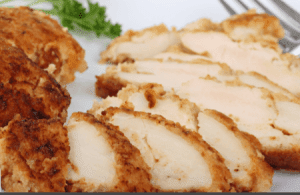 Low-Fat Crunchy Filled Chicken | nuwave oven recipe - Poultry -4