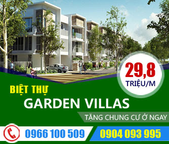 Biệt thự Hà Nội Garden City Long Biên, Biệt thự Garden City