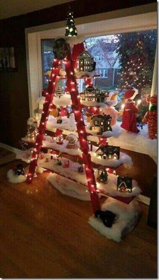 arboles de navidad con escalera buenanavidad (4)