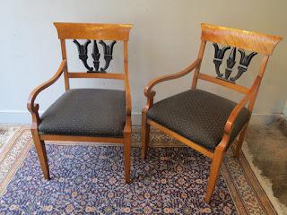 Empire Chair Pair
