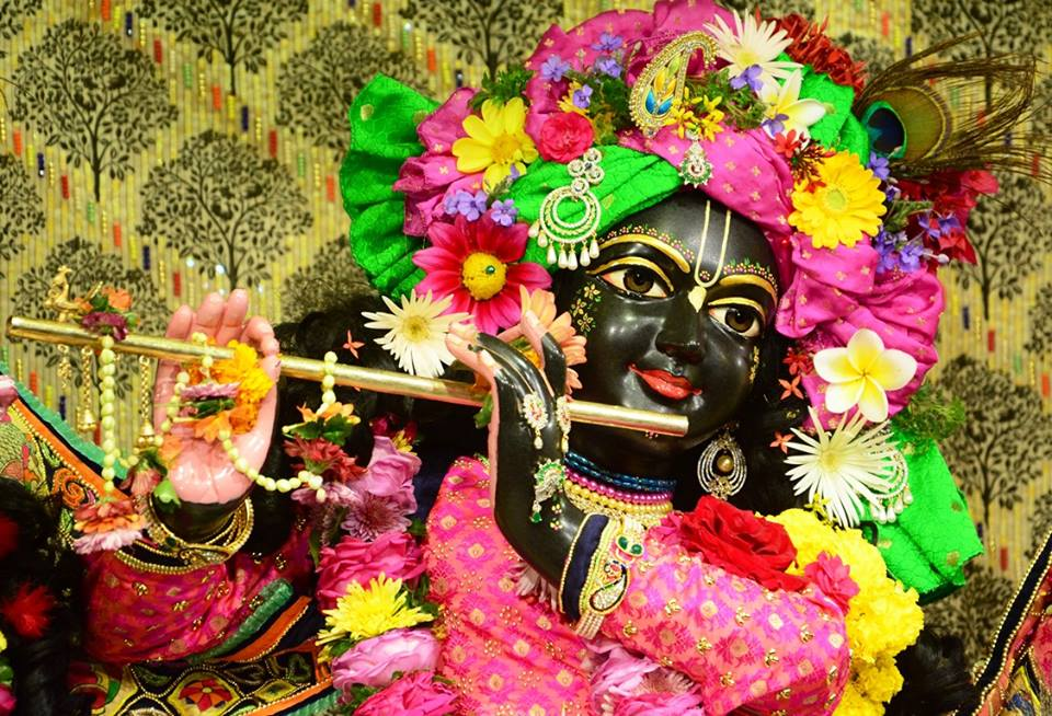 ISKCON GEV Deity Darshan 09 Jan 2017 (2)