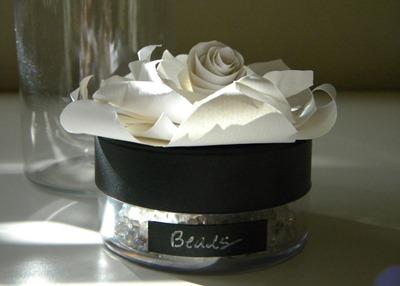 Paper Flower Jars 2