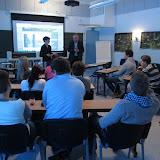 Aachen'in ja Centrian ammattikorkeakoulujen opiskelijoita Inter Sensessä 31.1.-13