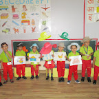 Hat Day - Introduction of Letter H (Nursery) 22.08.2016