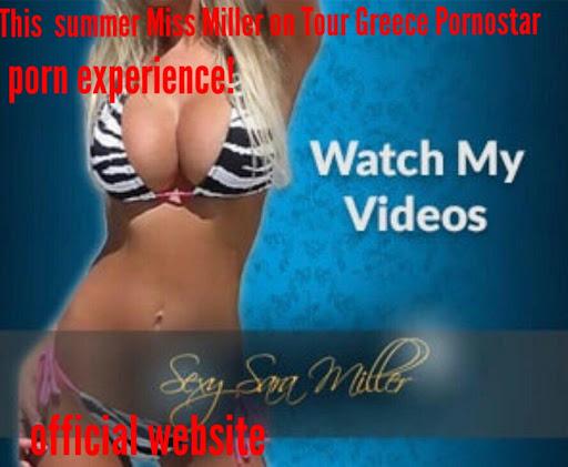 Miss Miller escort tour in Greece