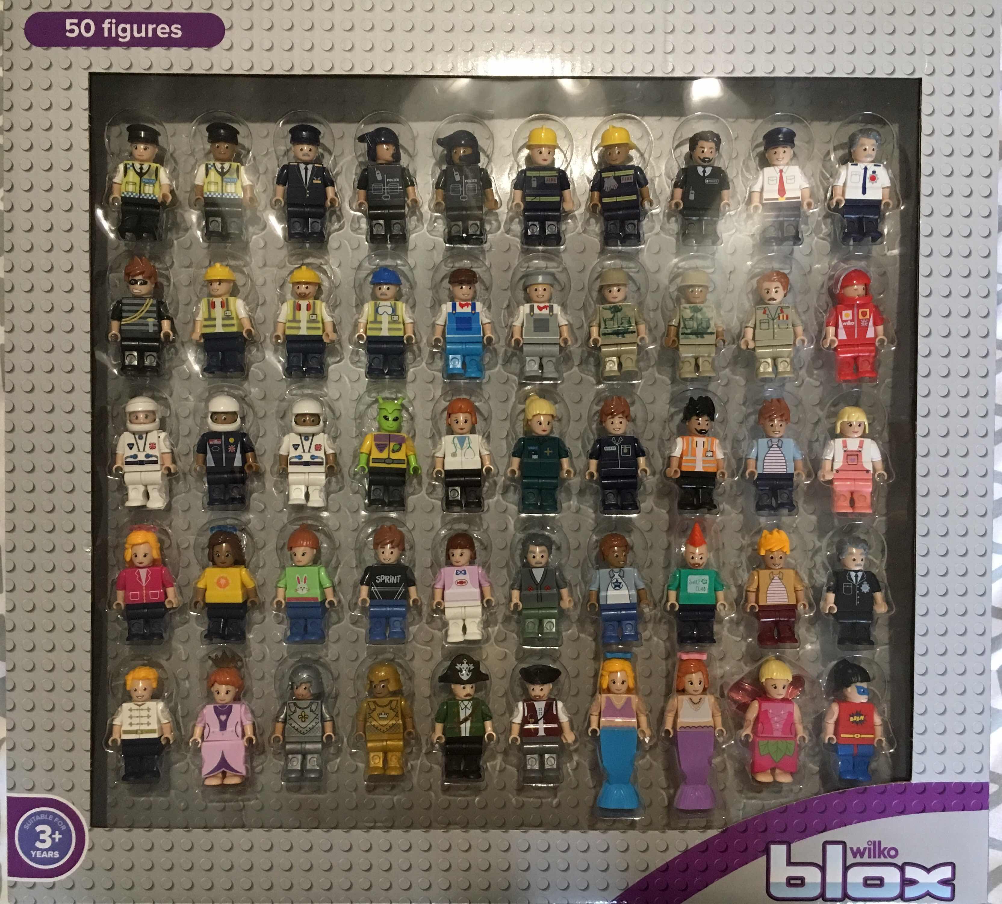 Blox Wilkinson's 50 figures