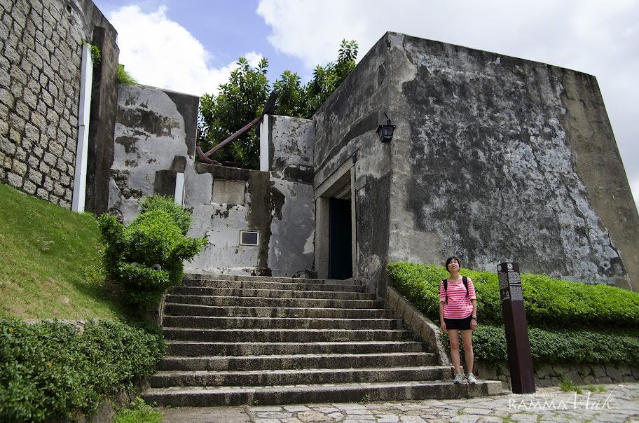 炮台堡壘入口