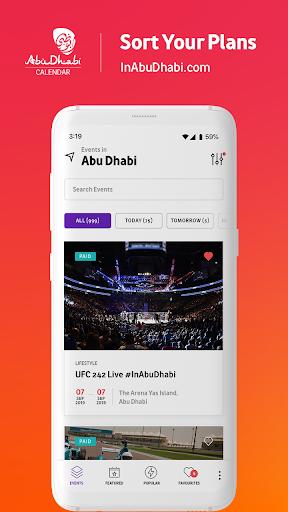 Abu Dhabi Calendar 2.0.0 screenshots 1