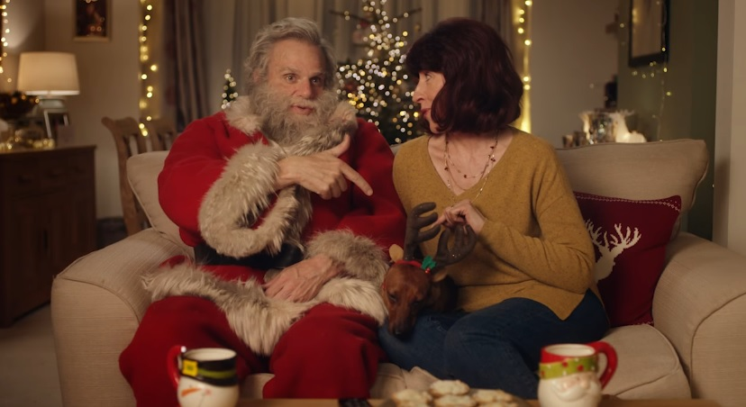 Iceland Foods have turned Mr Claus into a vlogger to promote their award winning mince pies