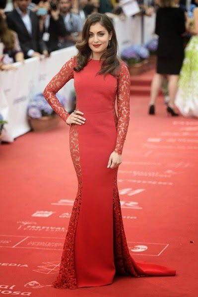 Hiba Abouk attends the 18th Malaga Spanish Film Festival close ceremony1
