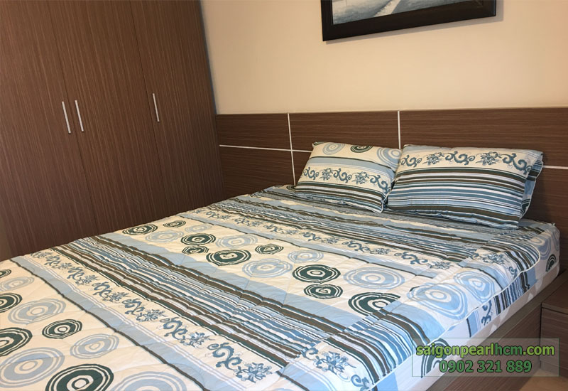 phòng ngủ 1 tại căn hộ cho thuê saigon pearl