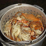 Cooking Blue Crabs.