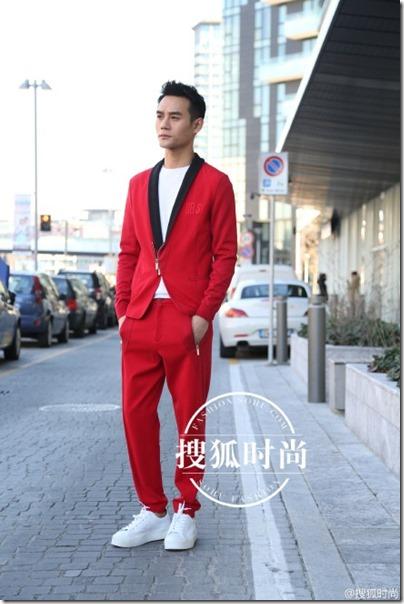 2016.01.19 Wang Kai X Milan Fashion Week AF16 X Dirk Bikkembergs 王凱 2016秋冬男裝週 02