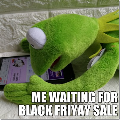 Kermit Shopping Memes Black Fri Deal