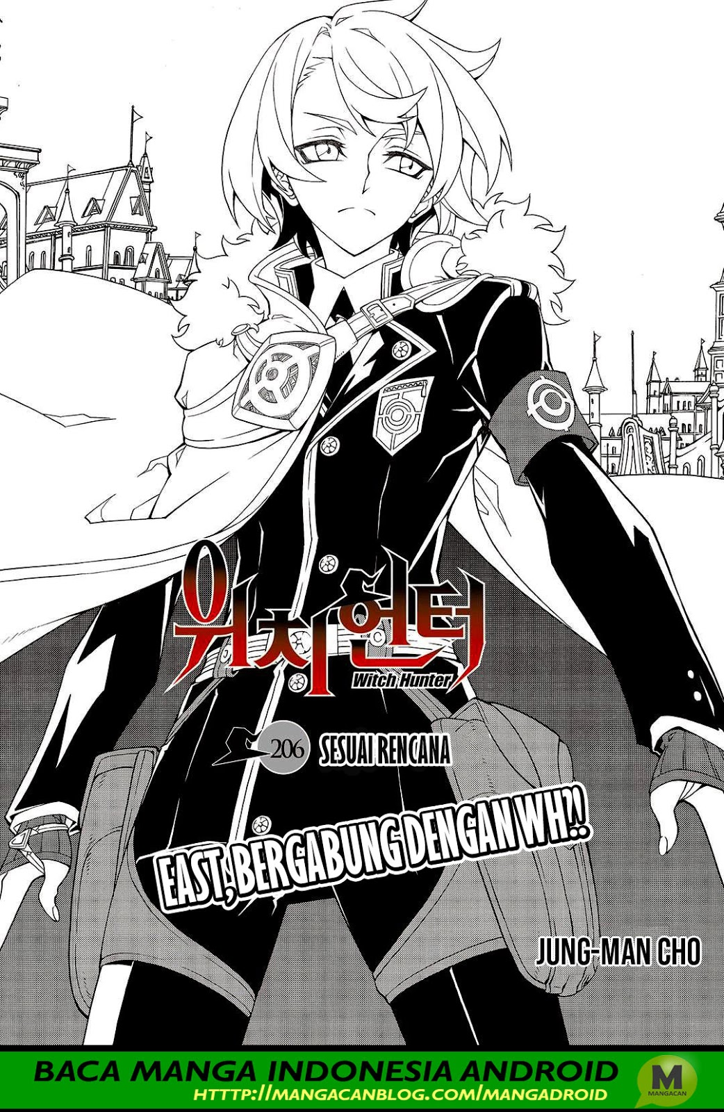 Witch Hunter Chapter 206