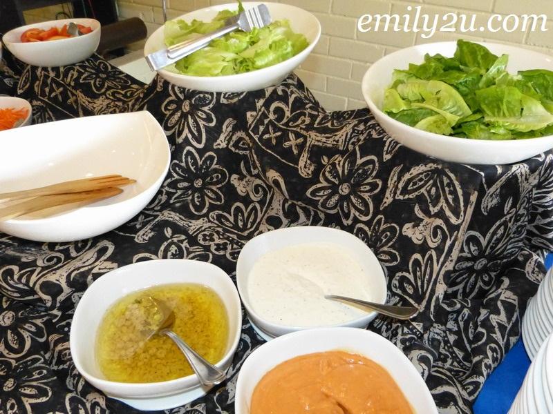 buffet lunch Impiana Hotel Ipoh